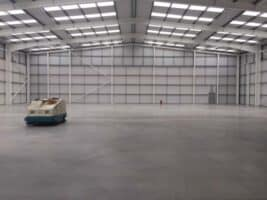 1 The new factory requiring process cooling is a blank canvas to say the least