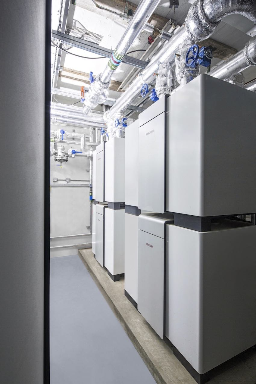 The Completed Stiebel Eltron Heat Pumps in place - by Kimptons