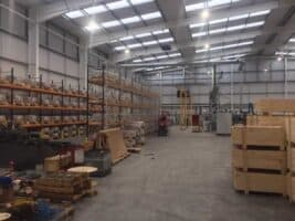 17 more images of the factory layout taking shape
