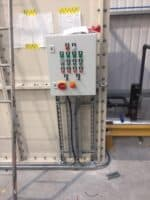 18 control panel for the system on the water tank