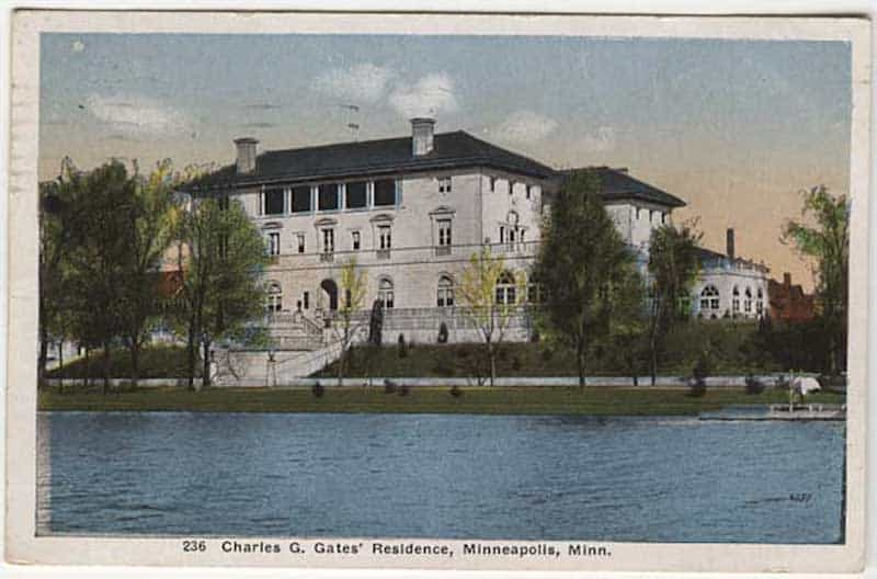 Charles Gates Mansion in Minneapolis
