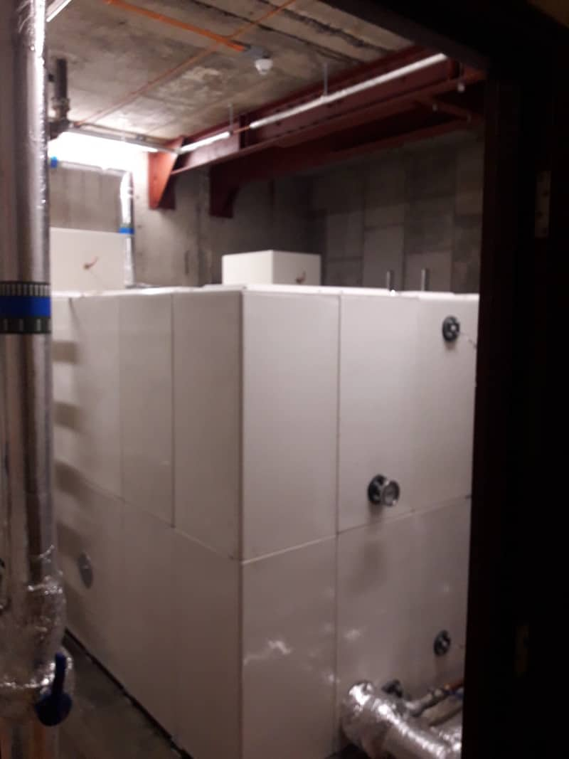 New Basement tank completed at The Capital Building, Liverpool By Kimpton