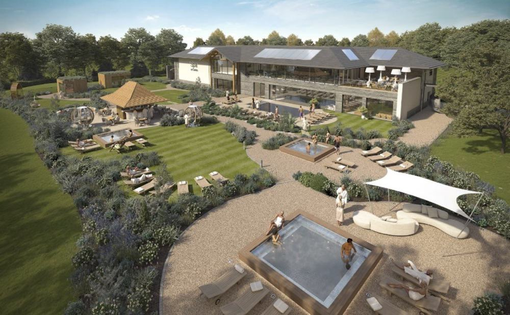 Carden Park Spa Garden with HVAC by Kimpton Wirral
