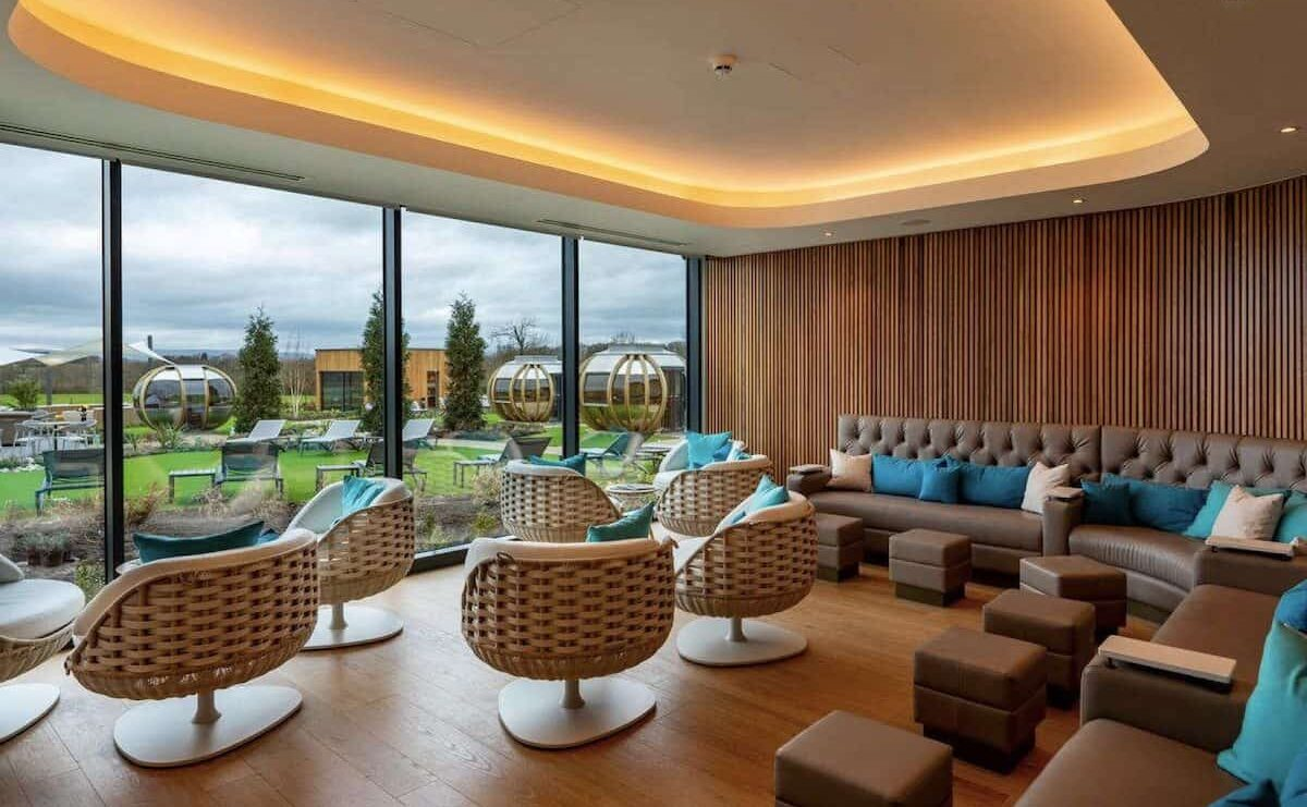 Carden Park Spa chill with HVAC by Kimpton