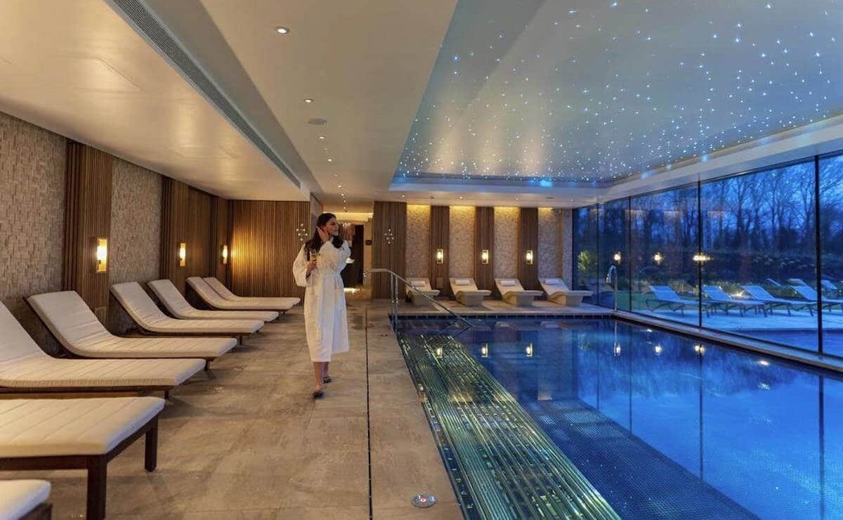 Carden Park Spa indoor pool with HVAC by Kimpton