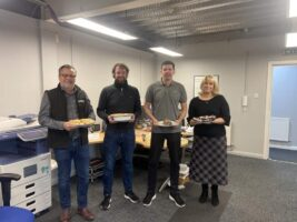 Day One bake off contenders Kimpton CSR