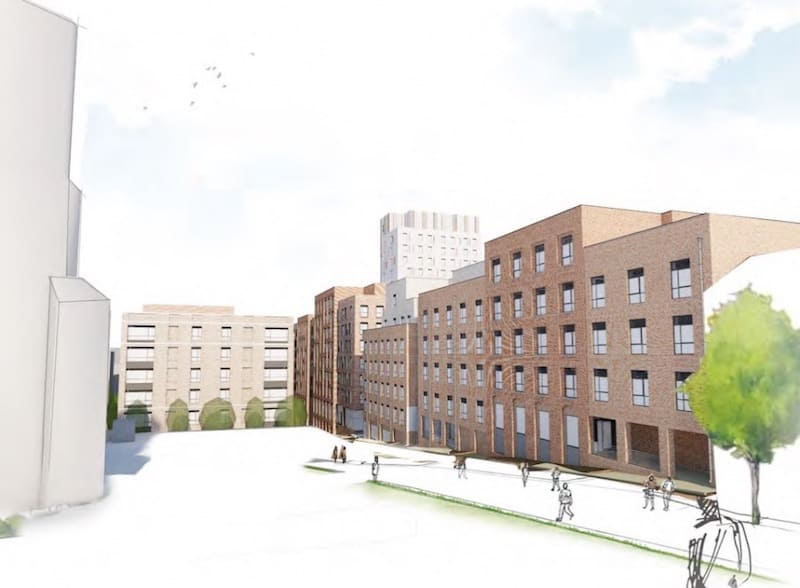 Hollis Croft Student development with Design and Build Mechanical contract by Kimpton Energy Solutions 2