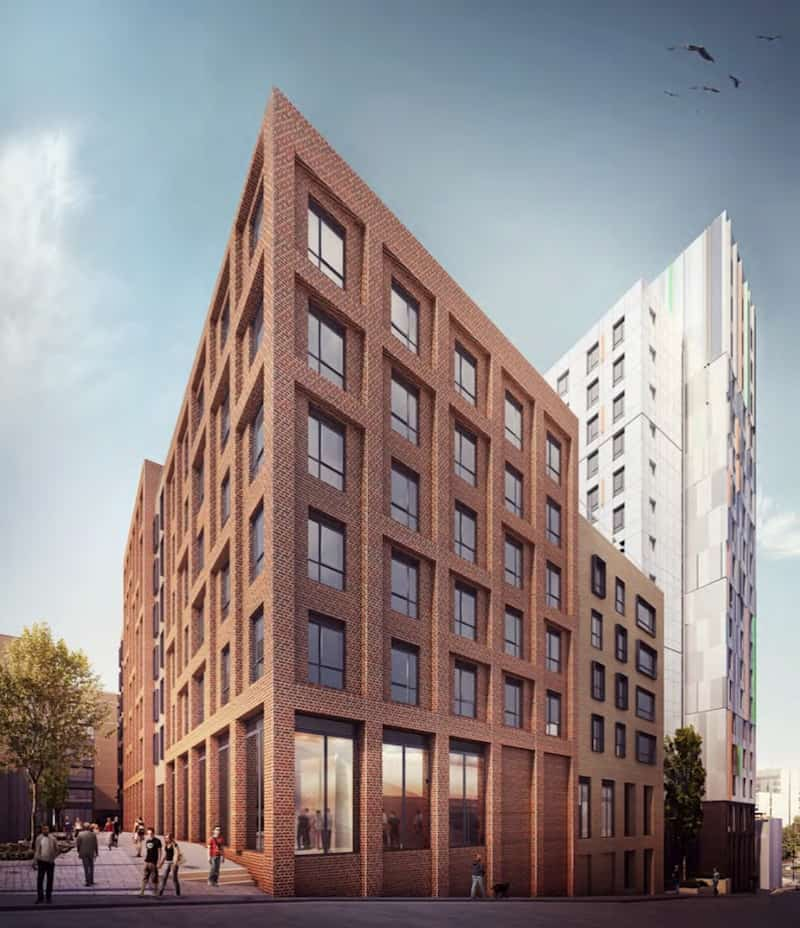 Hollis Croft Student Accommodation with Design and Build Mechanical contract by Kimpton Energy Solutions 3