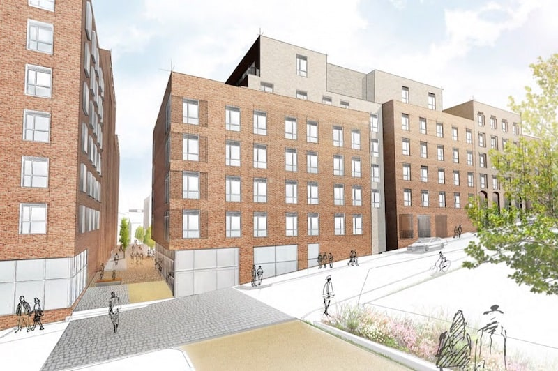 Hollis Croft Student Accommodation with Design and Build Mechanical contract by Kimpton Energy Solutions