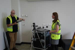How to use the NVHR systems inside the main school hall