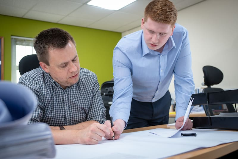 Justin Gilbert Estimator and Chris Colville Contracts Administrator - Kimpton Energy Solutions Wirral About Kimpton Energy Solutions