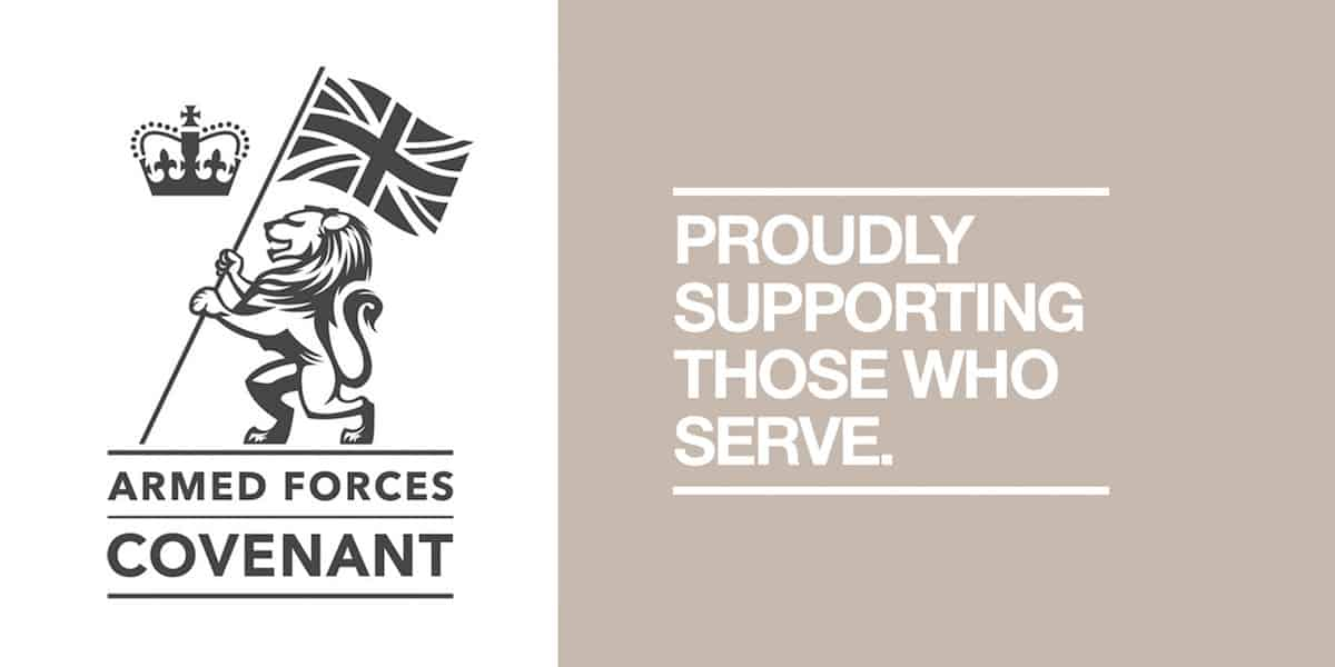 Kimpton Supporting Armed Forces Covenant