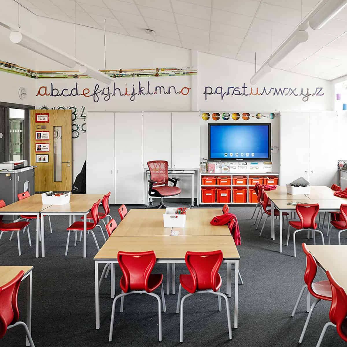 New Park Primary School by AHR Architects interior