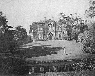 Old picture of Greenbank House, Liverpool