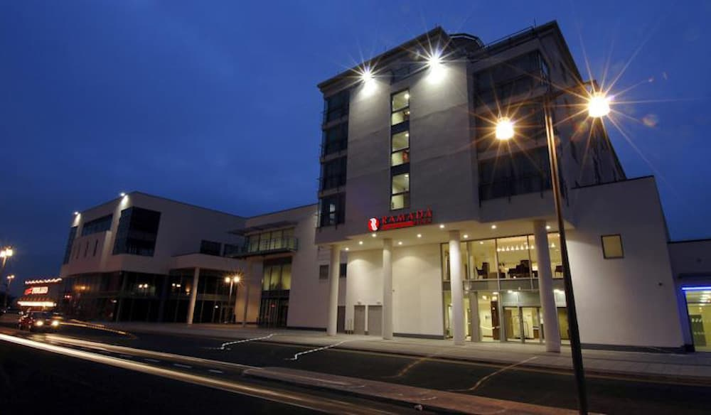 Roadside view of The Ramada Plaza Southport with Asset management by Kimpton