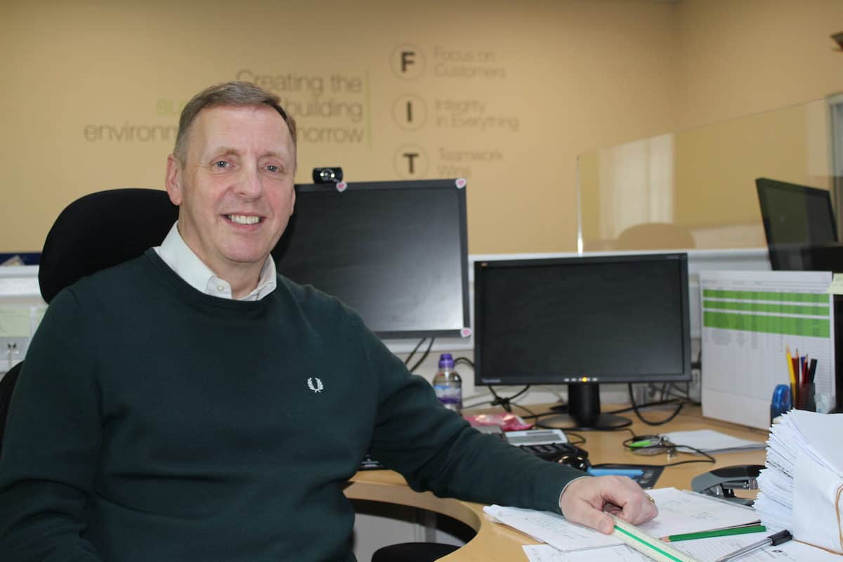 Steve Turner of Kimpton Mechanical services Wirral