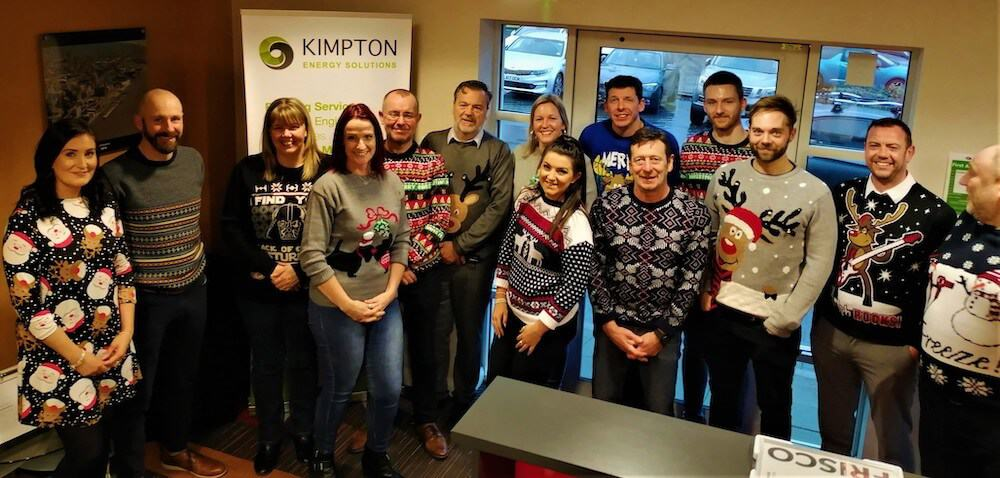 The Kimpton Christmas Jumper team in all their glory