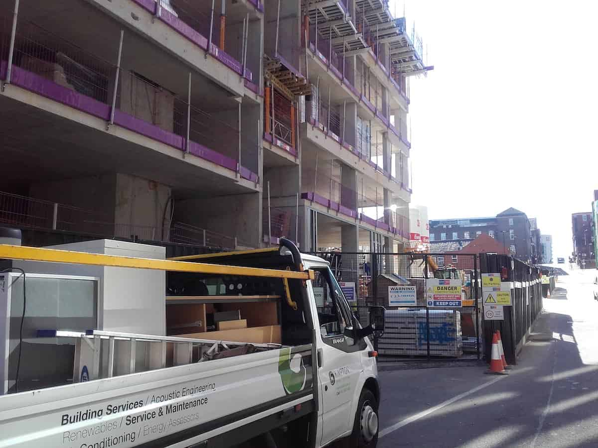 The Kimpton team on site are always safety and quality conscious first 1200