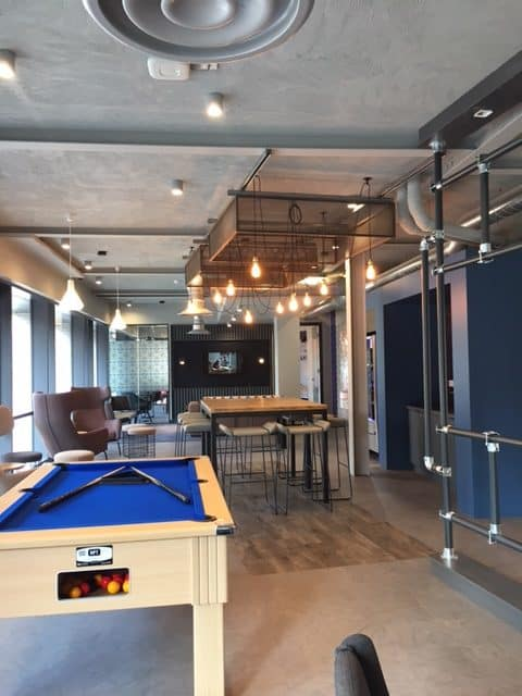 The Tramshed Student Accomodation in Preston by Kimpton Energy Solutions common area
