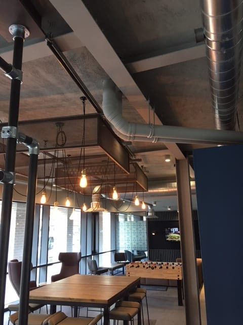 The Tramshed Student Accomodation in Preston by Kimpton Energy Solutions games room