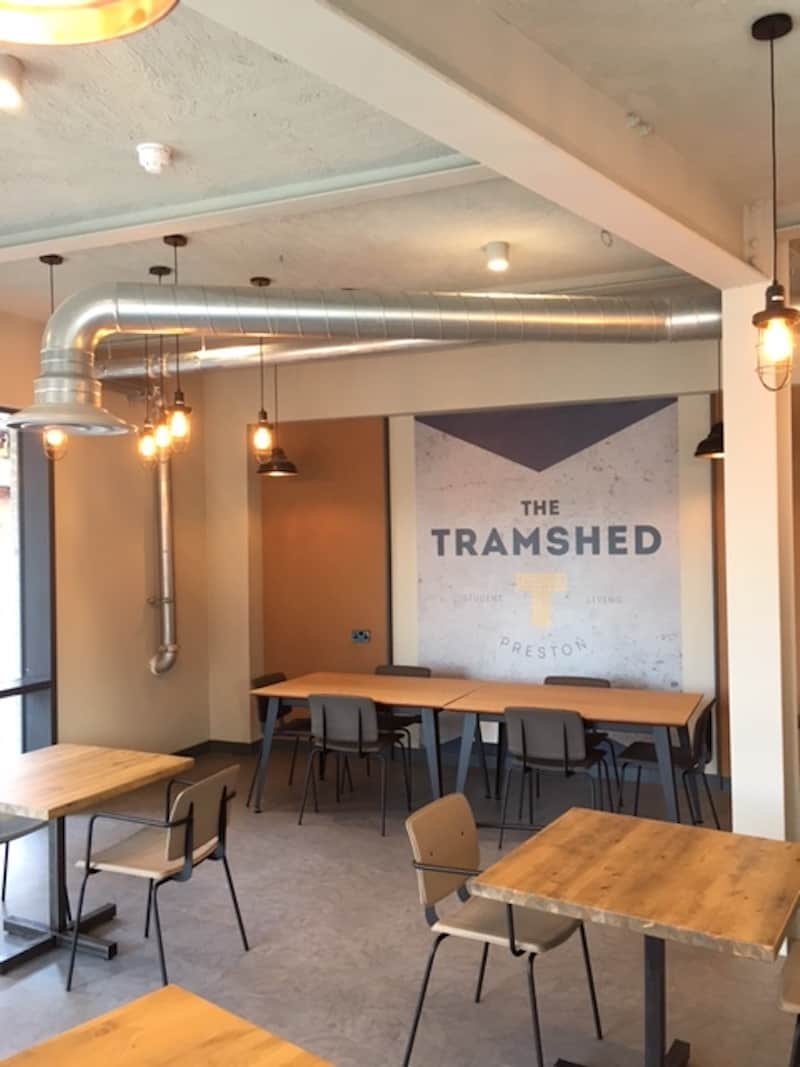 The Tramshed Student Accomodation in Preston by Kimpton Energy Solutions seating area