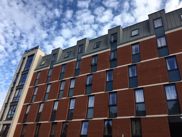 The Tramshed Student Accomodation in Preston by Kimpton Energy Solutions wide view