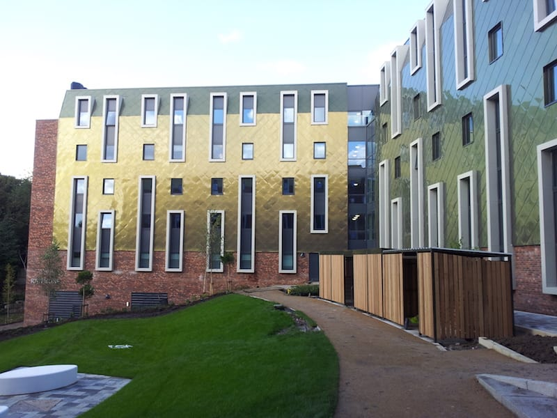 The finished Greenbank accomodation by Kimpton Building Services Liverpool