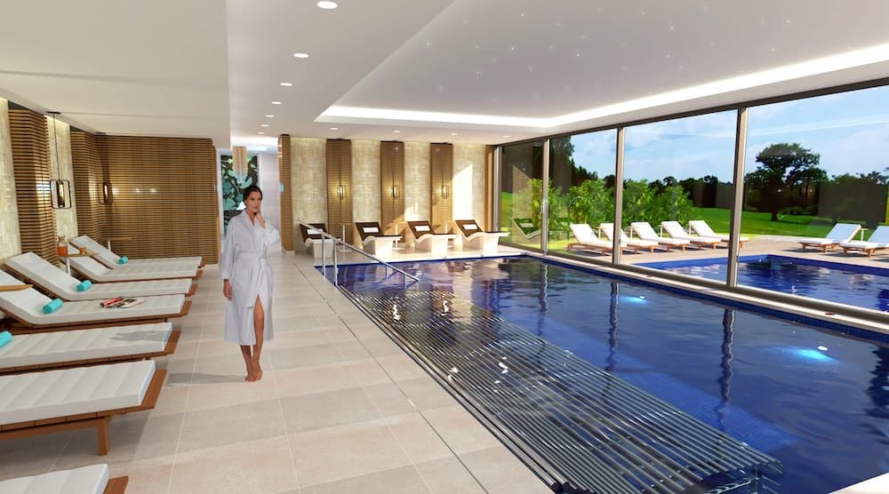 The new Vitality Pool at Carden Park Spa near Chester