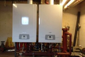 Two-Commercial-Boilers-ready-for-service