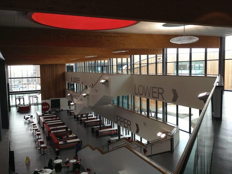 UCEA interior Ellesmere Port with the new GAHP system maintained by Kimpton