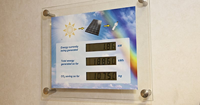 Utilising Solar PV's is a simple and reliable renewable energy solution