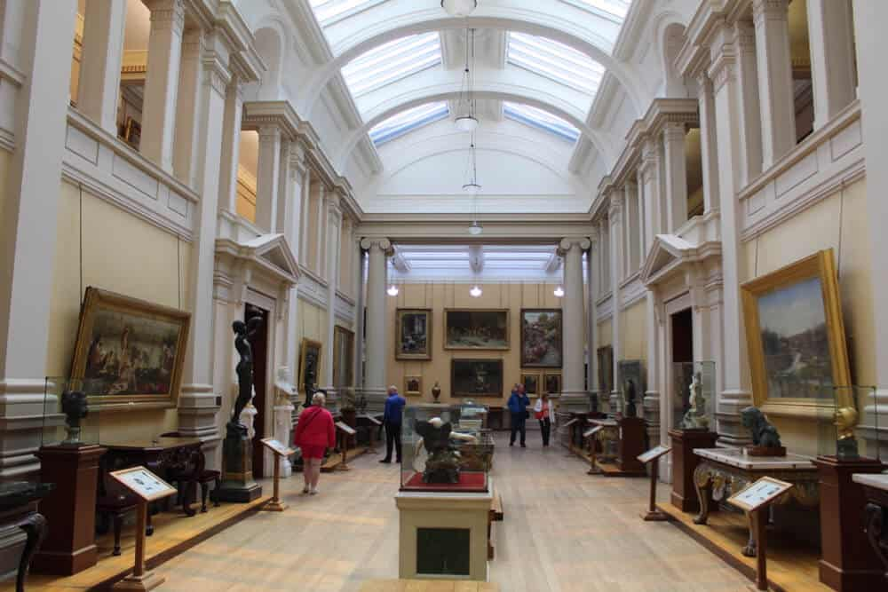 art gallery environmental conditions at Lady Lever Gallery - Managing humidity in museums and art galleries