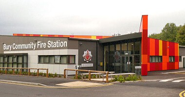Kimpton Bury Community Fire Station Image